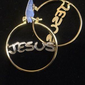 18karat hoop Gold filled earrings